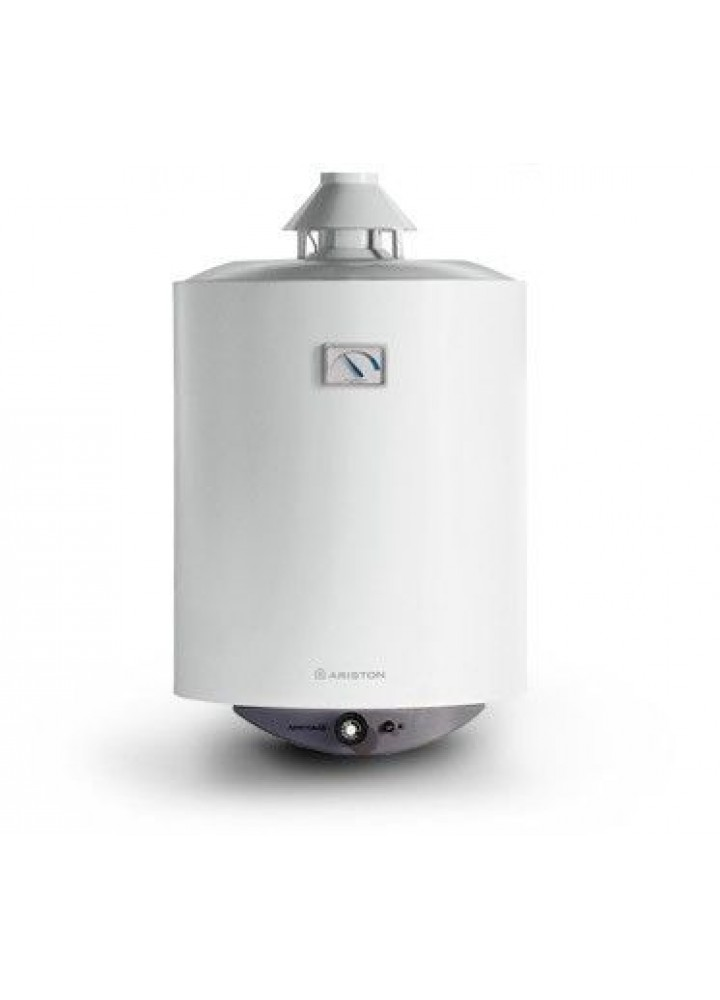 Scaldabagno A Gas Ad Accumulo Ariston S/Sga 80 Metano - New Erp
