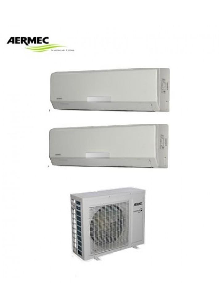 Climatizzatore Condizionatore Aermec Dual Split  Mod. Se Inverter 9000+12000 Con Mkm420 - New 2016