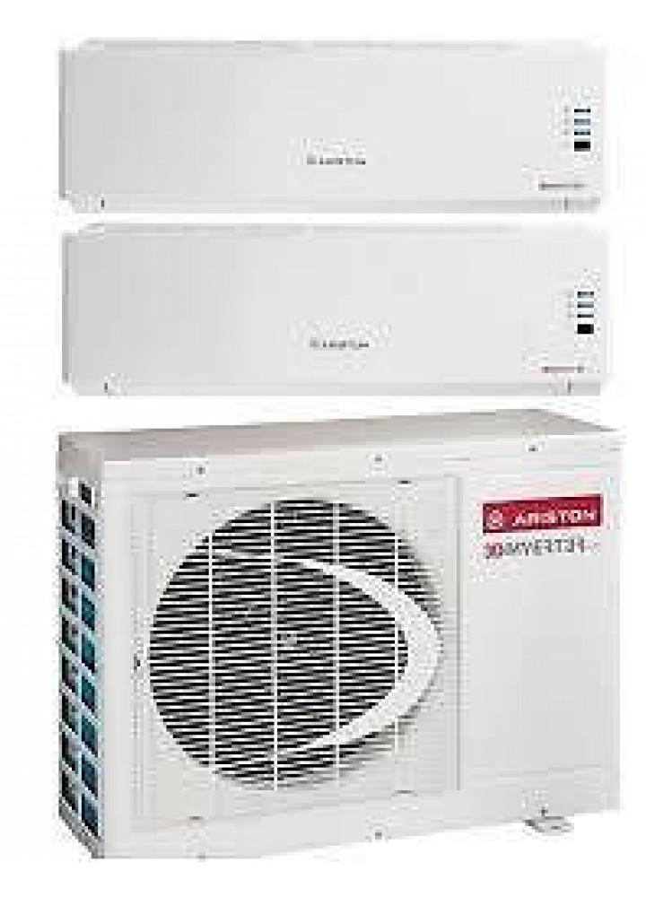 Climatizzatore Ariston Dual Split Inverter Miros 9000+12000+Miros Dual 50 Xc4