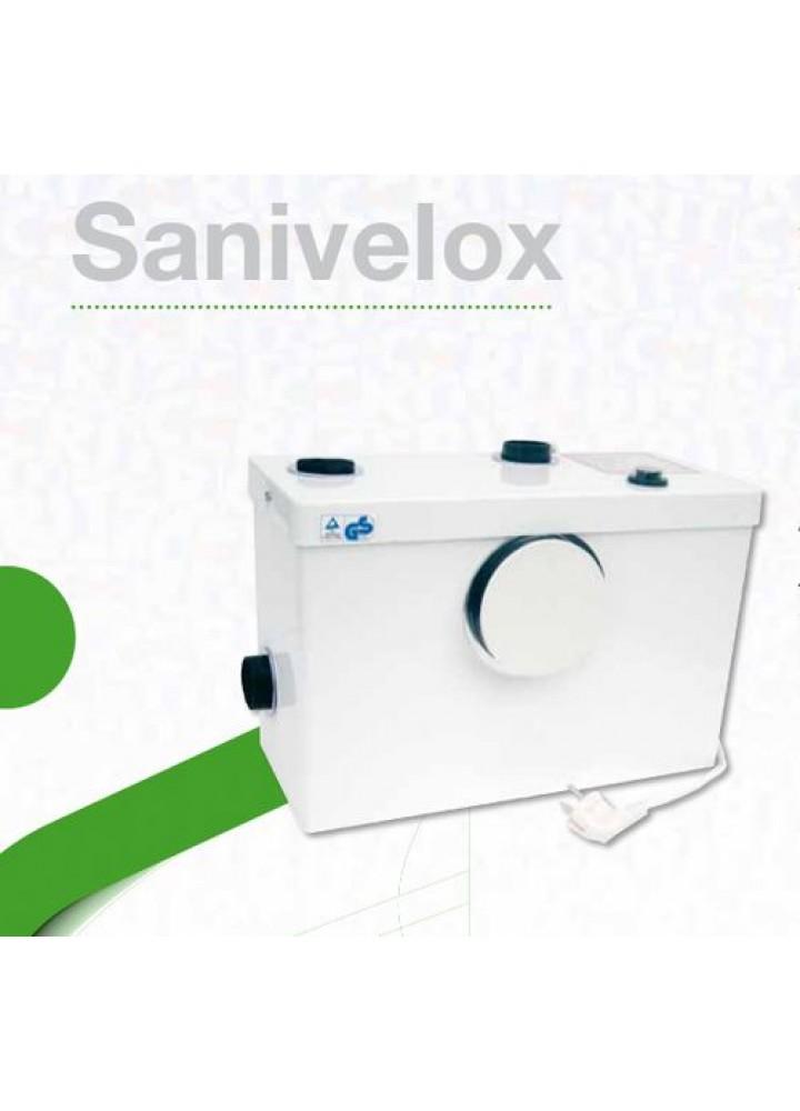 Pompa Per Acque Di Scarico Marca Cerit Cer Broyeur Modello: Sanivelox 3