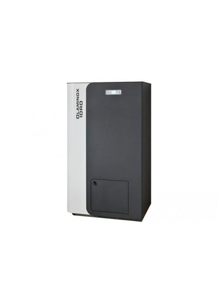 Caldaia A Pellet Laminox Mod. Termoboiler 24 Matic Con Acqua Sanitaria Bianco/Antracite