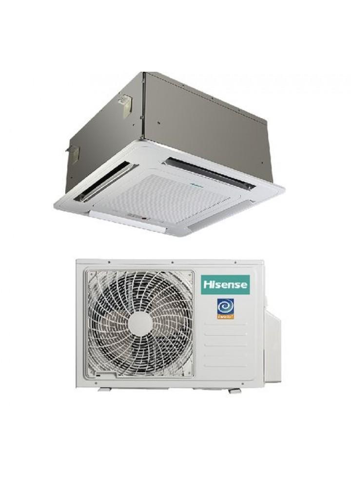 Climatizzatore Condizionatore Hisense A Cassetta Inverter 18000 Btu Con Pannello Auc-18ur4saa1