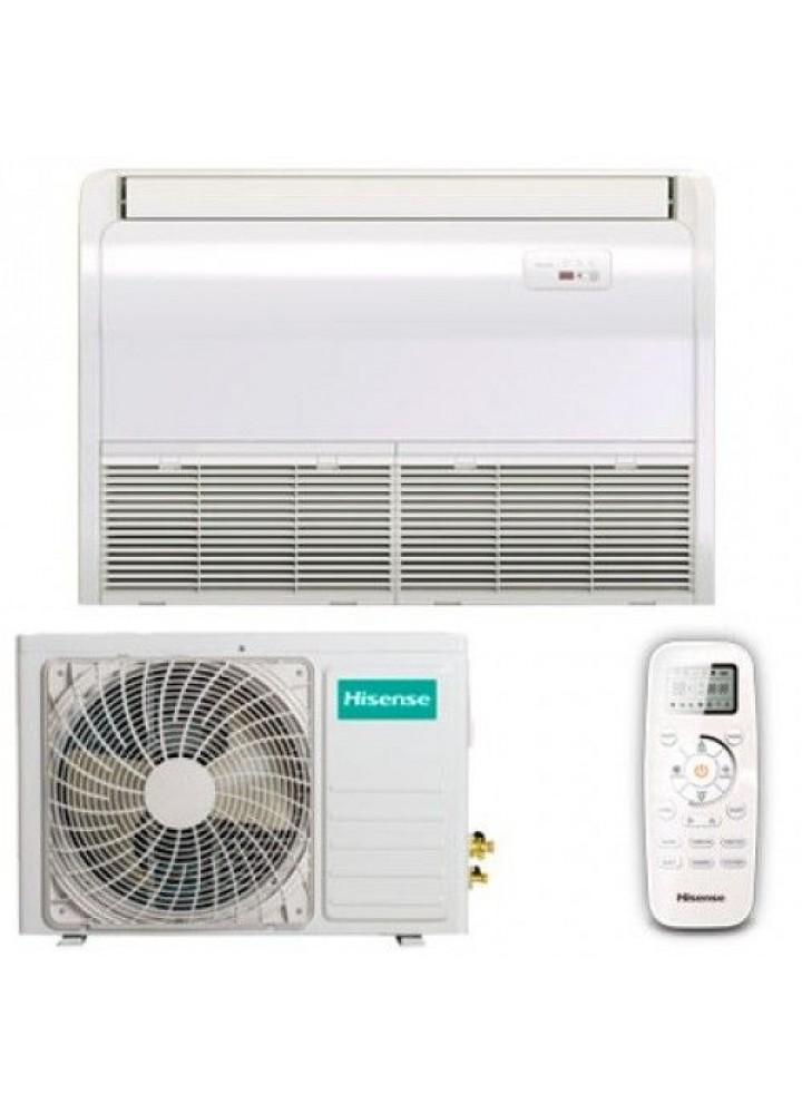 Climatizzatore Condizionatore Hisense Pavimento / Soffitto Inverter 18000 Btu  Auv-18ur4sa1