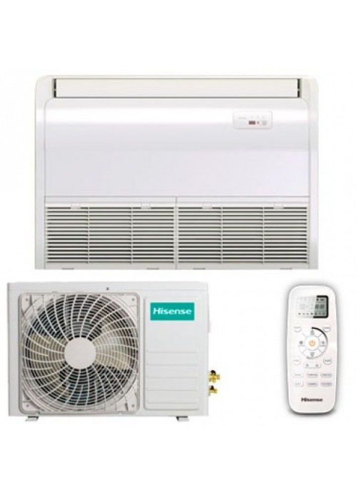 Climatizzatore Condizionatore Hisense Pavimento / Soffitto Inverter 36000 Btu Auv-36ur4sb1