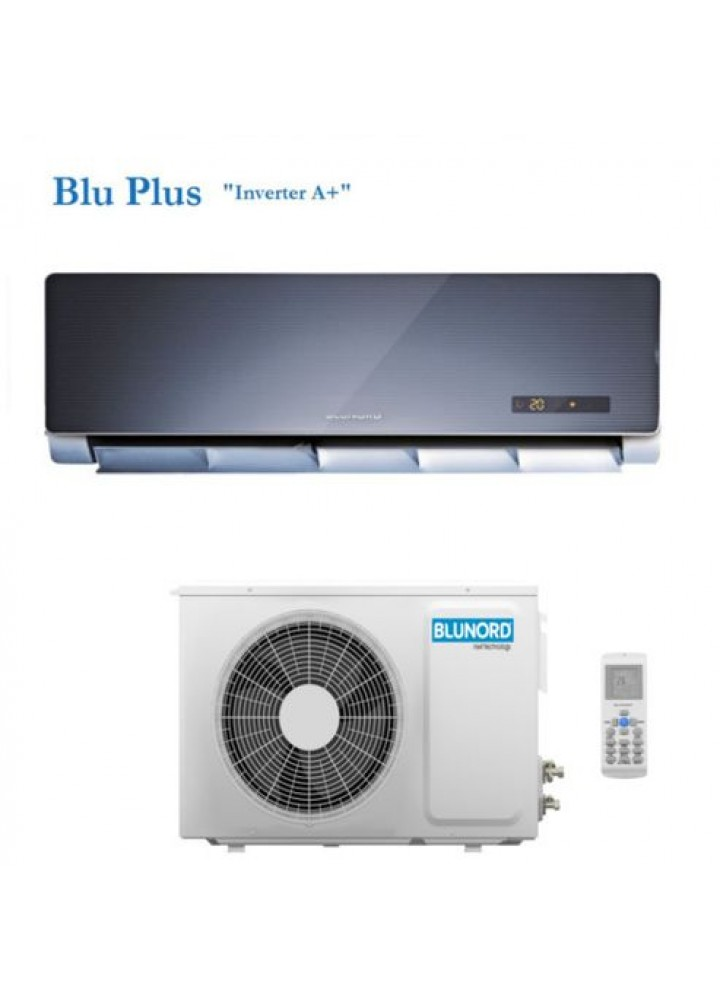 Climatizzatore Condizionatore Blunord Mod. Blu 12 Plus Inverter A+ 12000 Btu