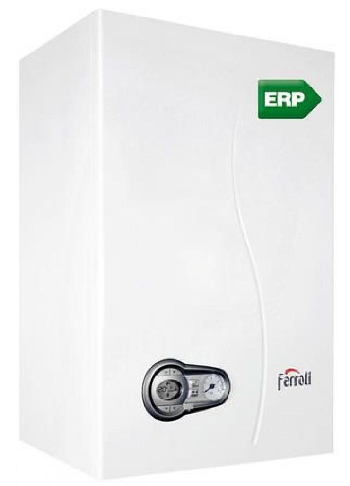 Caldaia Ferroli Bluehelix Tech 25c A Condensazione Gpl O Metano Completa Di Kit Per Scarico Fumi - New Erp