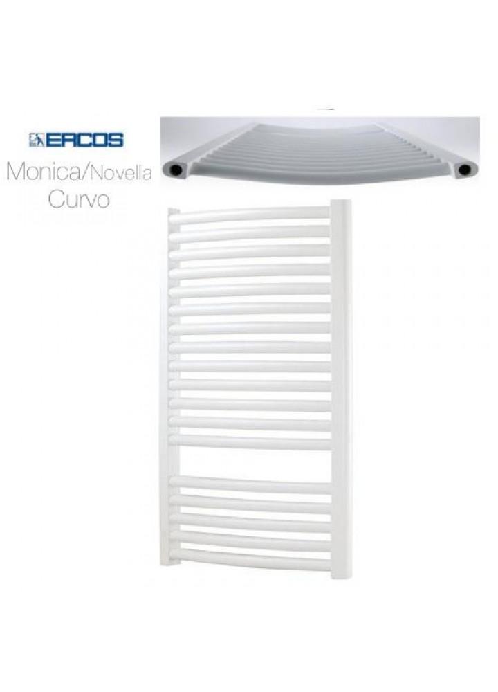 Termoarredo Scaldasalviette Ercos Monica/Novella Bianco Curvo 20 Modelli Disponibili